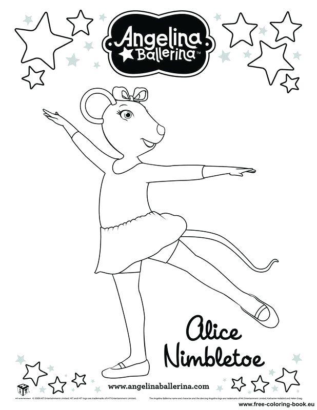 618x800 Angelina Bailarina Para Colorear Coloring Pages Ballerina