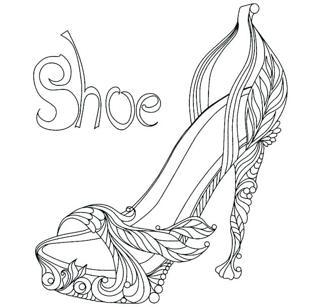 618x608 Beautiful Ballerina Shoes Coloring Pages Beautiful Ballerina Shoes