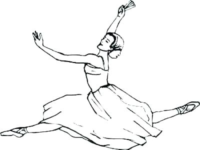 400x300 Coloring Pages Ballerina Barbie Ballerina Coloring Pages Coloring