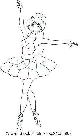 270x470 Nutcracker Ballet Coloring Pages Ballet Coloring Sheets Ballet