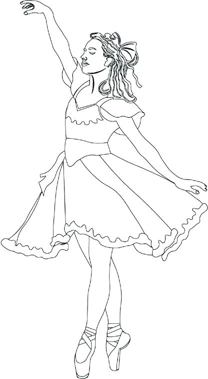 416x756 Shoes Coloring Pages Ballet Coloring Pages And Ballerina Shoes