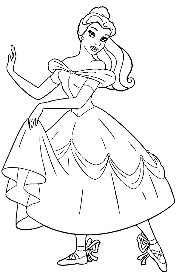 600x923 Ballerina Coloring Page Printable Ballerina Coloring Pages