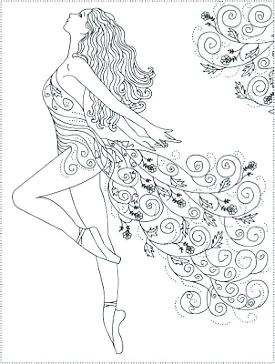 551x730 Ballerina Coloring Pages Free Ballerina Coloring Pages Free