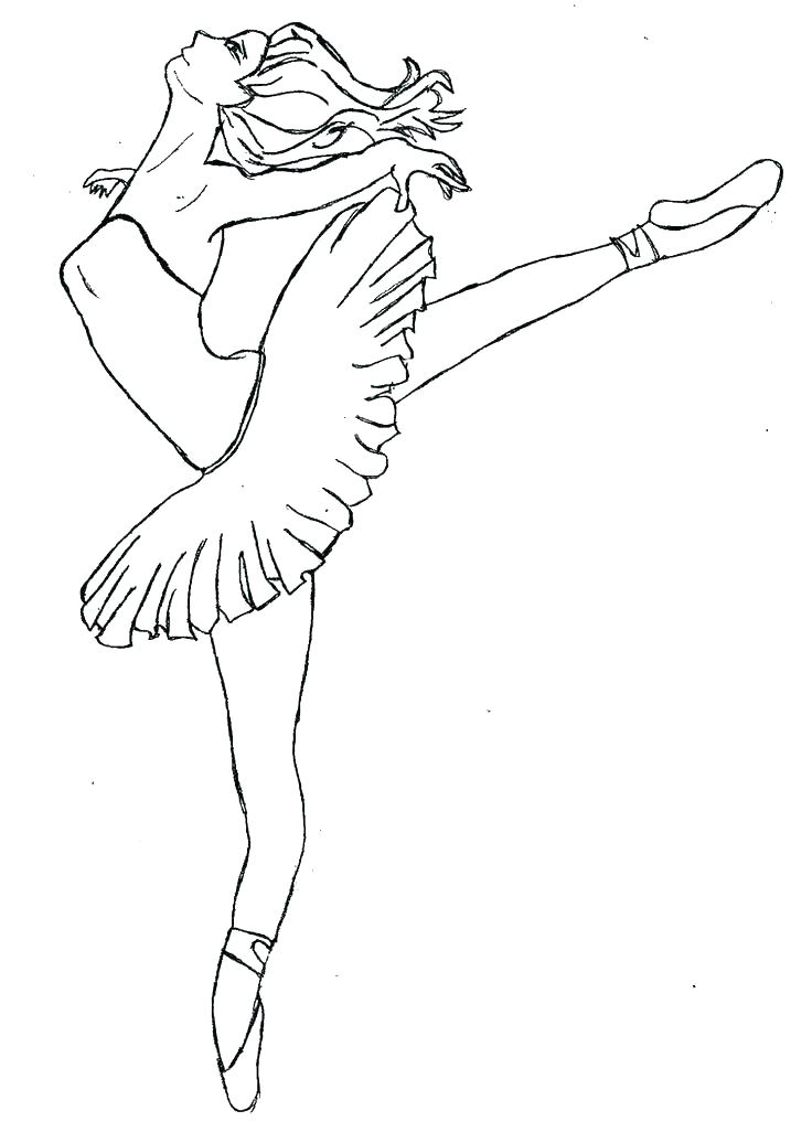 736x1026 Ballerina Coloring Pages Ballet Coloring Pages Printable Also