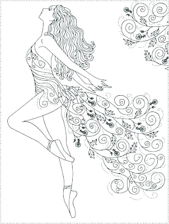 551x730 Ballerina Coloring Pictures Ballet Coloring Pages Picture