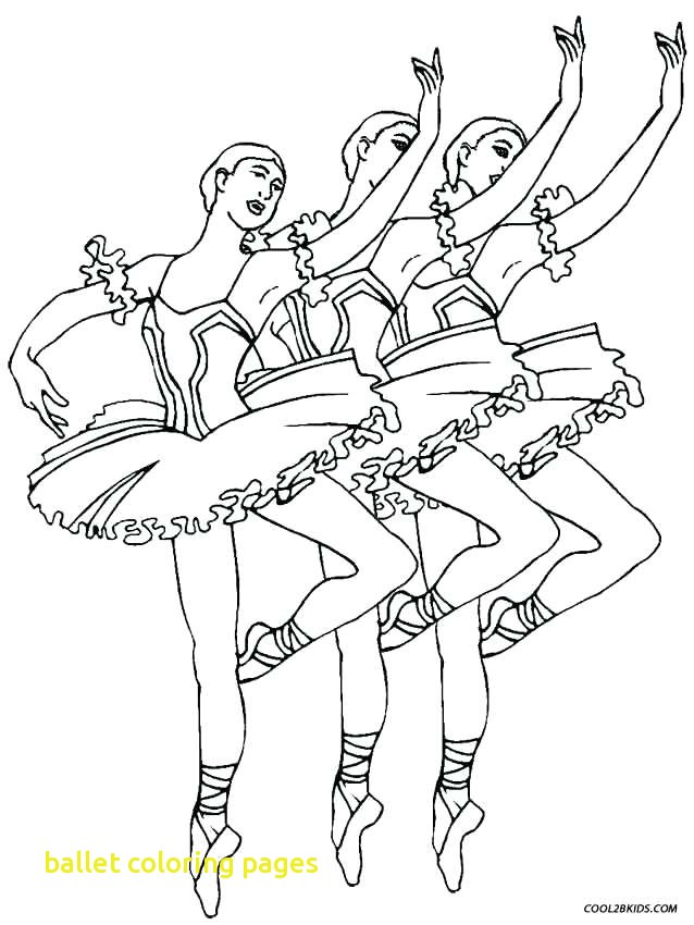 638x850 Ballet Coloring Pages With Ballet Dancer Coloring Pages Swan Lake