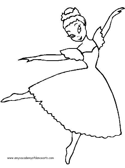 487x650 Ballet Coloring Sheets Free Coloring Pages Camp Themes
