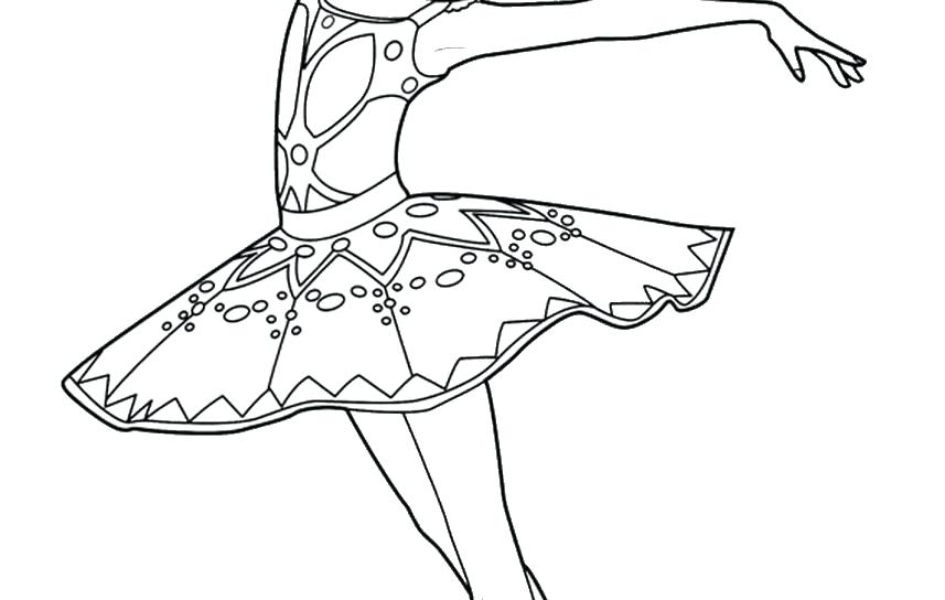 857x544 Ballet Dancer Coloring Pages Kids Coloring Ballerina Coloring Page
