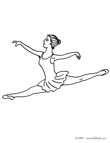 364x470 Coloring Sheets Ballet Dancer To Print Pages Free Printable Kids