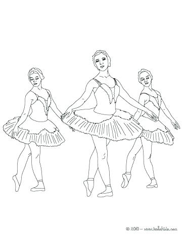 364x470 Printable Coloring Pages Ballerinas Ballet Dancer Ballerina