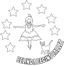 230x230 Top Free Printable Beautiful Ballet Coloring Pages Online