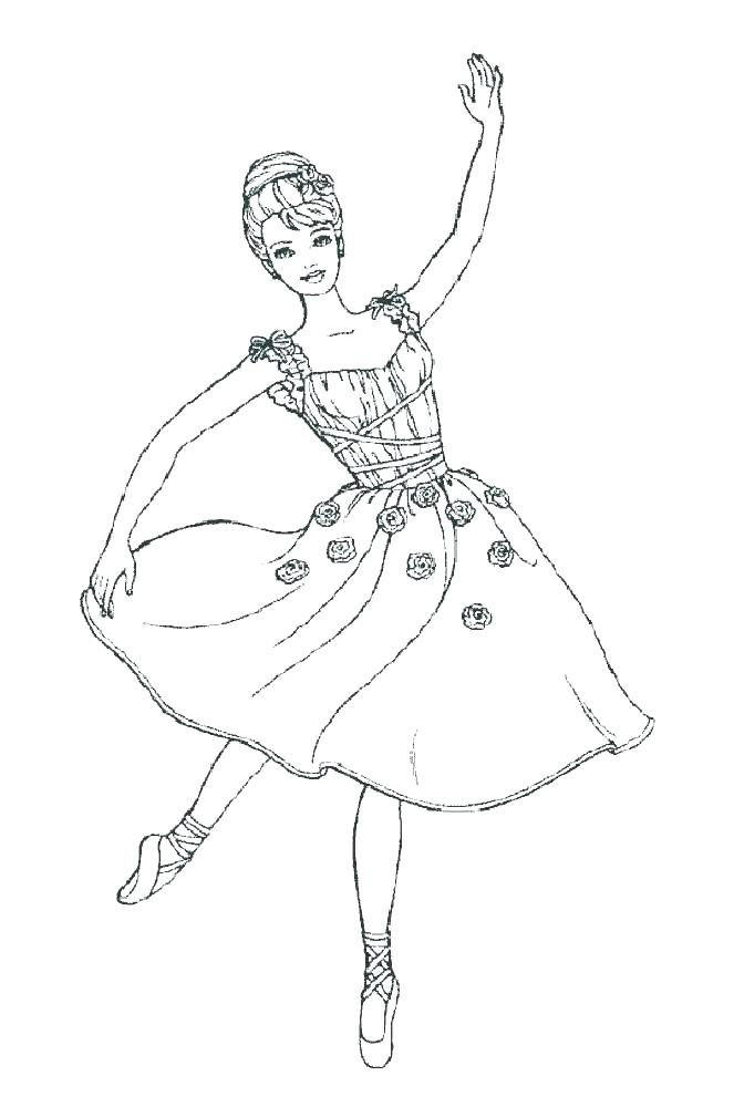 663x1000 Ballerina Coloring Pictures Ballet Coloring Pages Ballerina