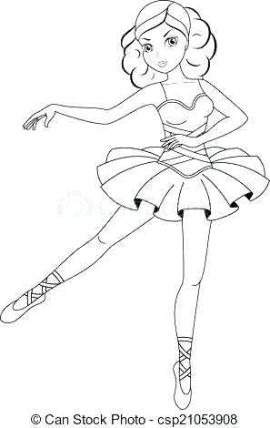 Ballet Positions Coloring Pages at GetDrawings.com | Free for ...