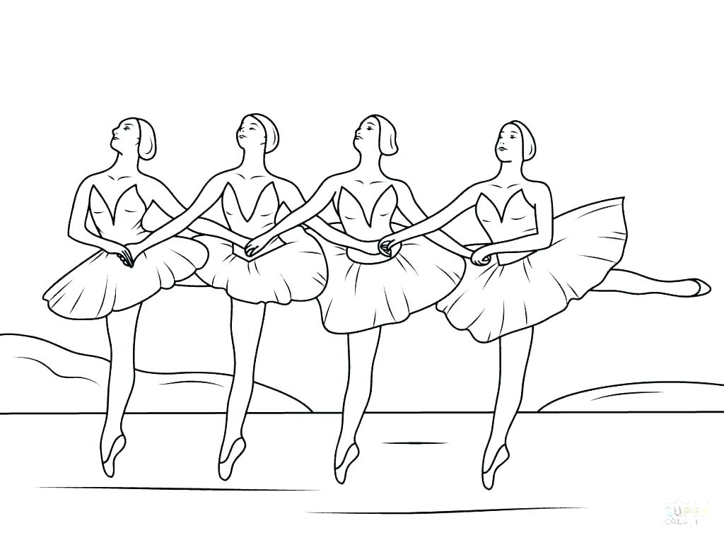 1024x764 Ballerina Coloring Pages Ballet Coloring Page Ballet Positions