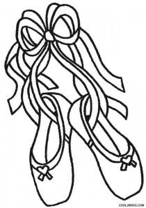 210x300 Ballet Shoes Coloring Pages Coloring Pages Ballet