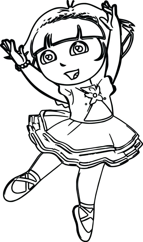 607x1024 Ballet Coloring Pages Printable Coloring Pages Ballet Slippers