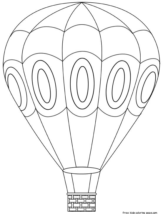 554x728 Hot Air Balloon Coloring Page New Free Hot Air Balloon Coloring