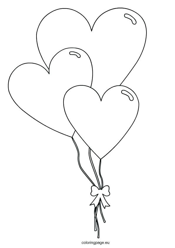 picture relating to Balloon Coloring Pages Printable identify Balloon Coloring Webpages at  Free of charge for