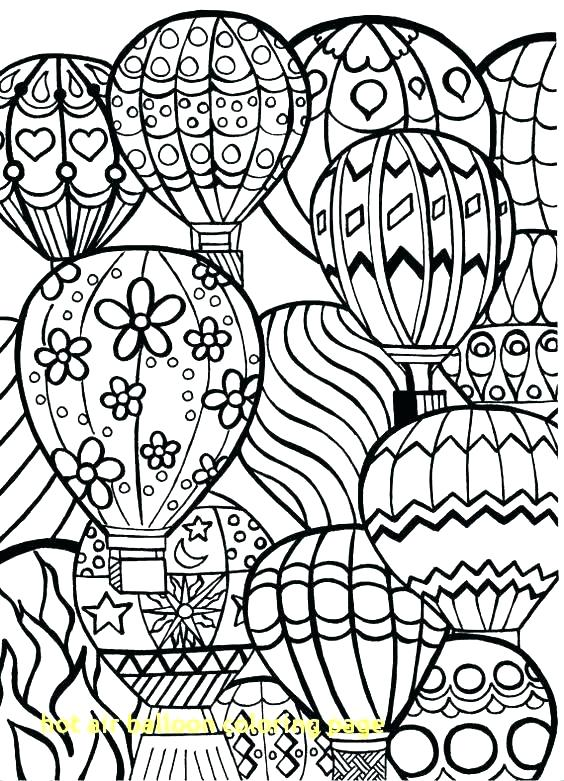 564x781 Balloon Coloring Pages Printable S S Hot Air Balloon Coloring
