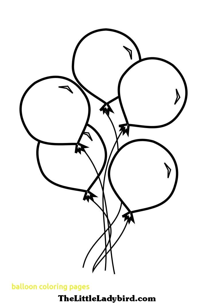745x1053 Balloon Coloring Pages With Balloon Coloring Pages Coloring
