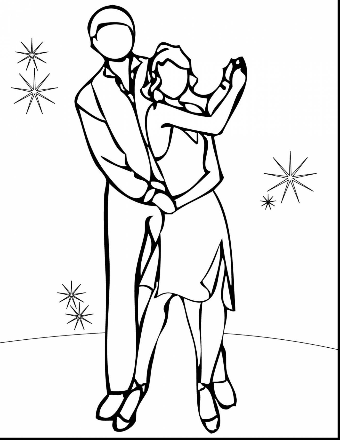 1402x1815 Coloring Pages Of Dancing Girl