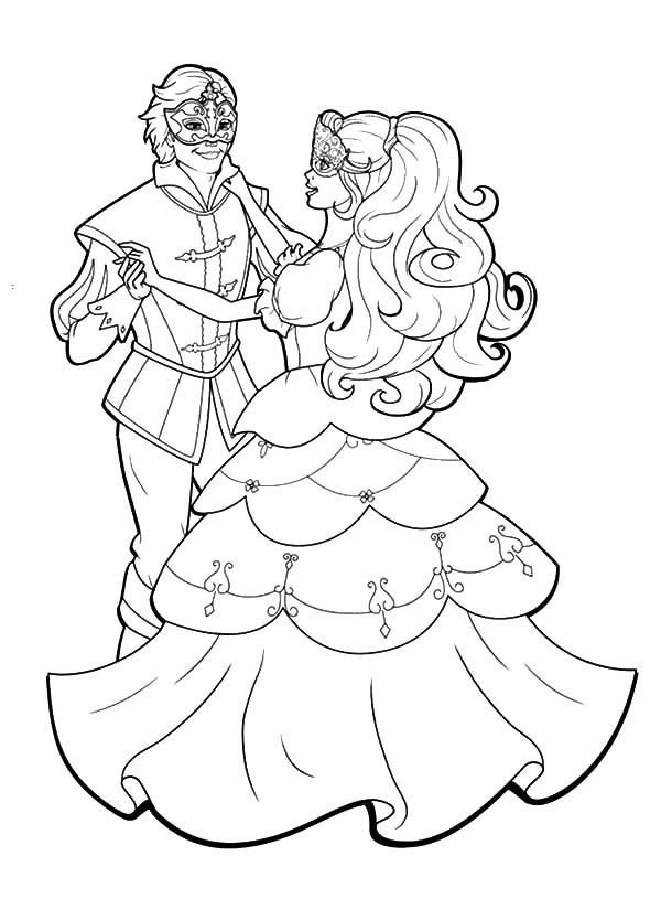 600x834 Ballroom Dancing Coloring Pages