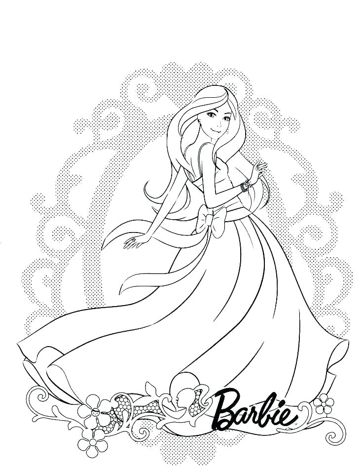 736x952 Barbie And Friends Coloring Pages The Ballroom And Her Friend