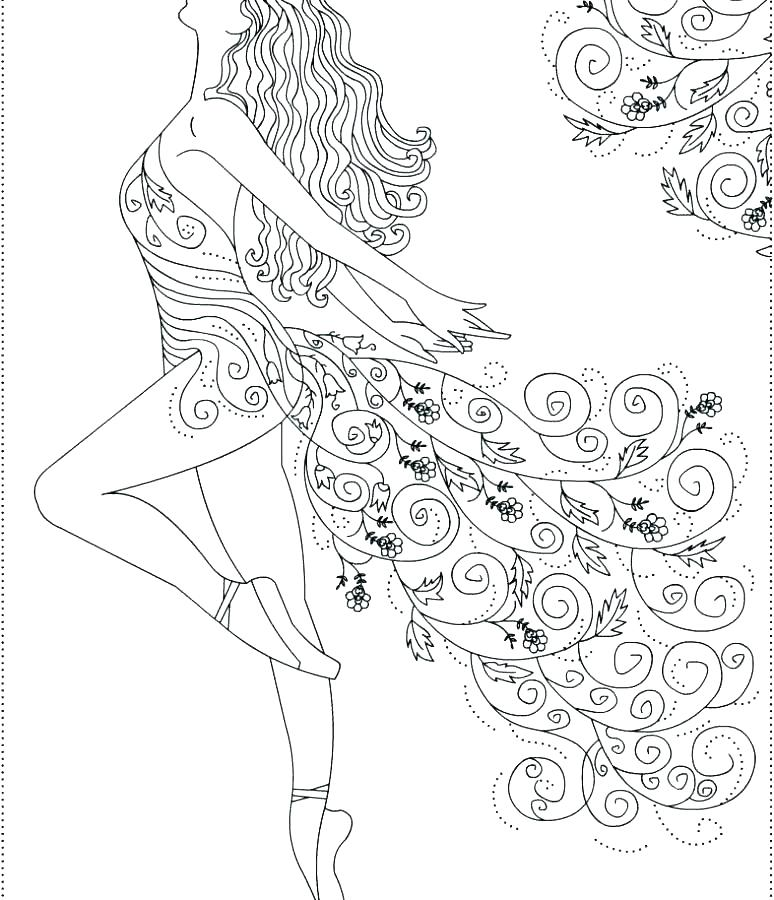 774x900 Dance Coloring Pictures