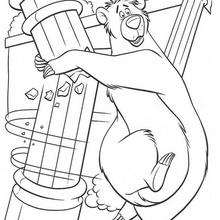 baloo coloring pages 19