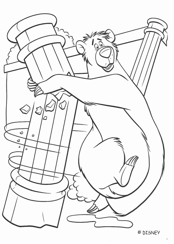 Baloo Coloring Pages at GetDrawings.com | Free for personal ...
