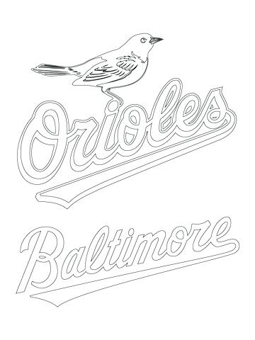Baltimore Ravens Coloring Pages At Getdrawings Com Free For