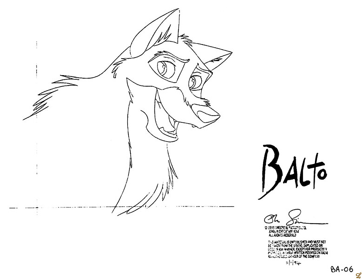 The Best Free Balto Coloring Page Images Download From 45 Free