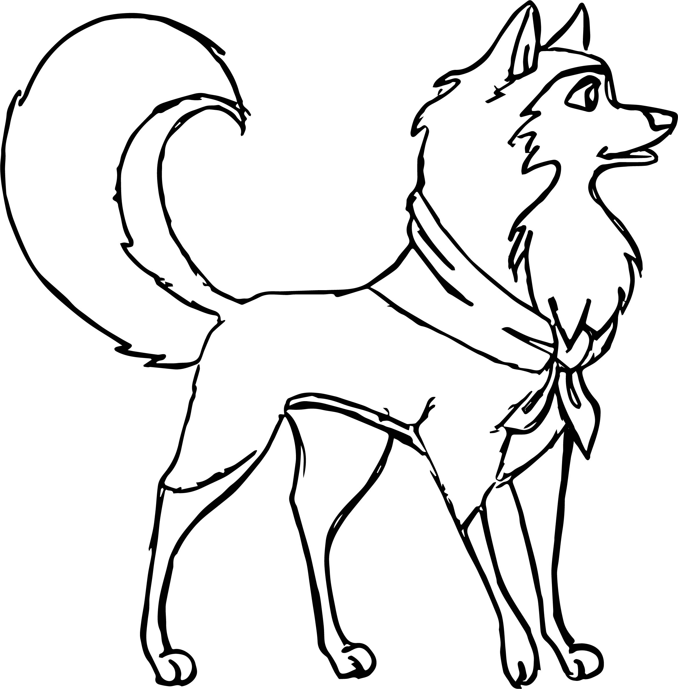 Balto And Jenna Coloring Pages At Getdrawings Com Free For