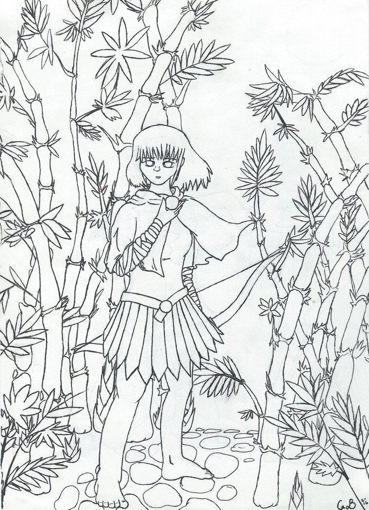 760x1050 Bamboo Tree Coloring Pages Download Coloring For Kids
