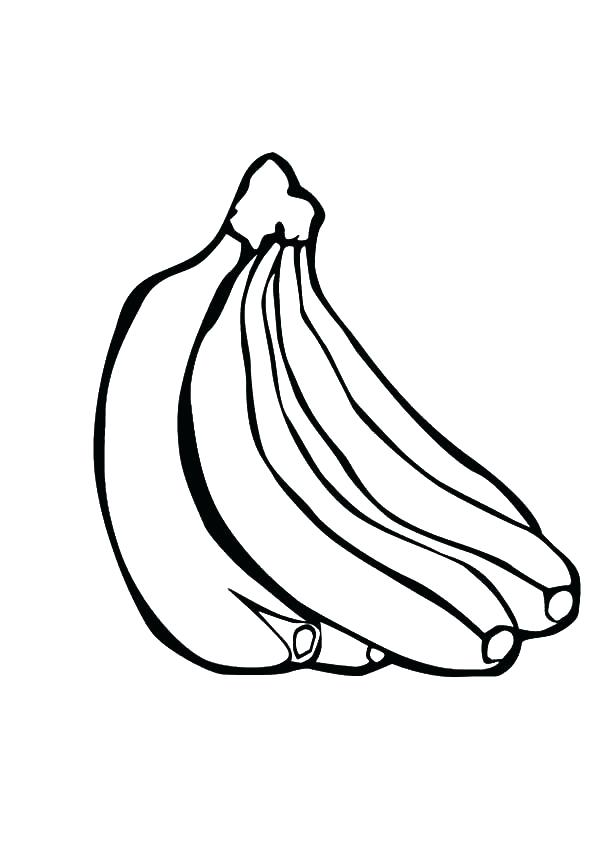 600x851 Banana Split Coloring Page Banana Split Activities Coloring Pages
