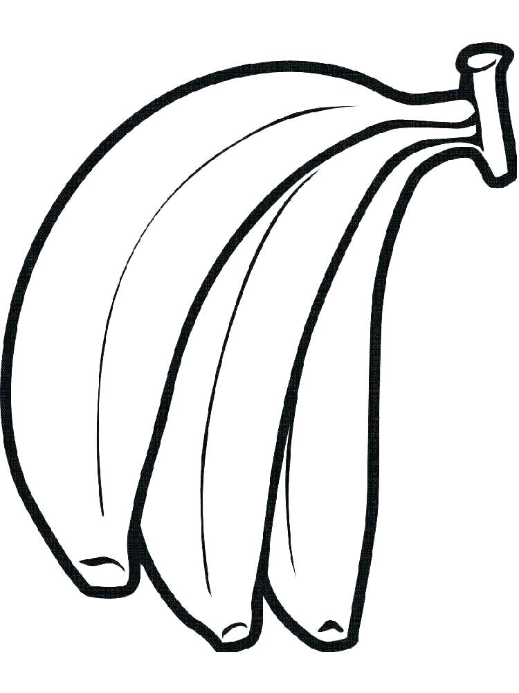 750x1000 Banana Split Coloring Page Banana Split Coloring Pages For Kids