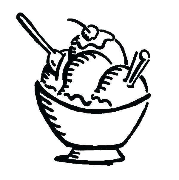 600x603 Banana Split Coloring Page Related Post Banana Split Coloring Page