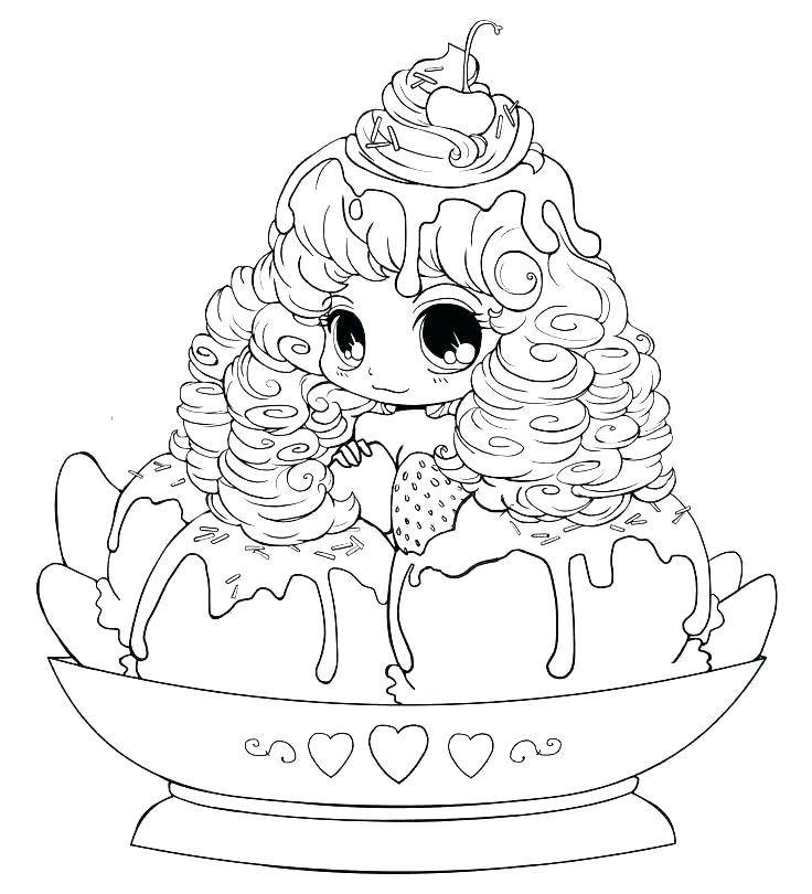 736x810 Coloring Pages Of Ice Cream Banana Split Coloring Page Minion Ice