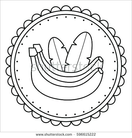 450x470 Banana Coloring Page Awesome Banana Coloring Page For Your World