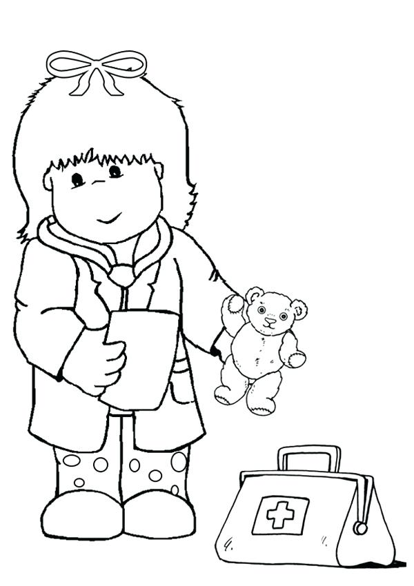 600x850 First Aid Coloring Pages First Aid Coloring Pages Band Aid