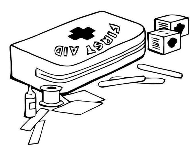 678x531 First Aid Coloring Pages Coloring Page Band Aid Invented For First
