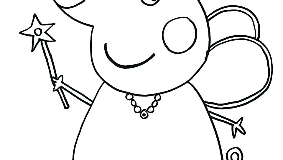 960x544 Pig Face Colouring Pages Printable Coloring Piggy Bank Coloring