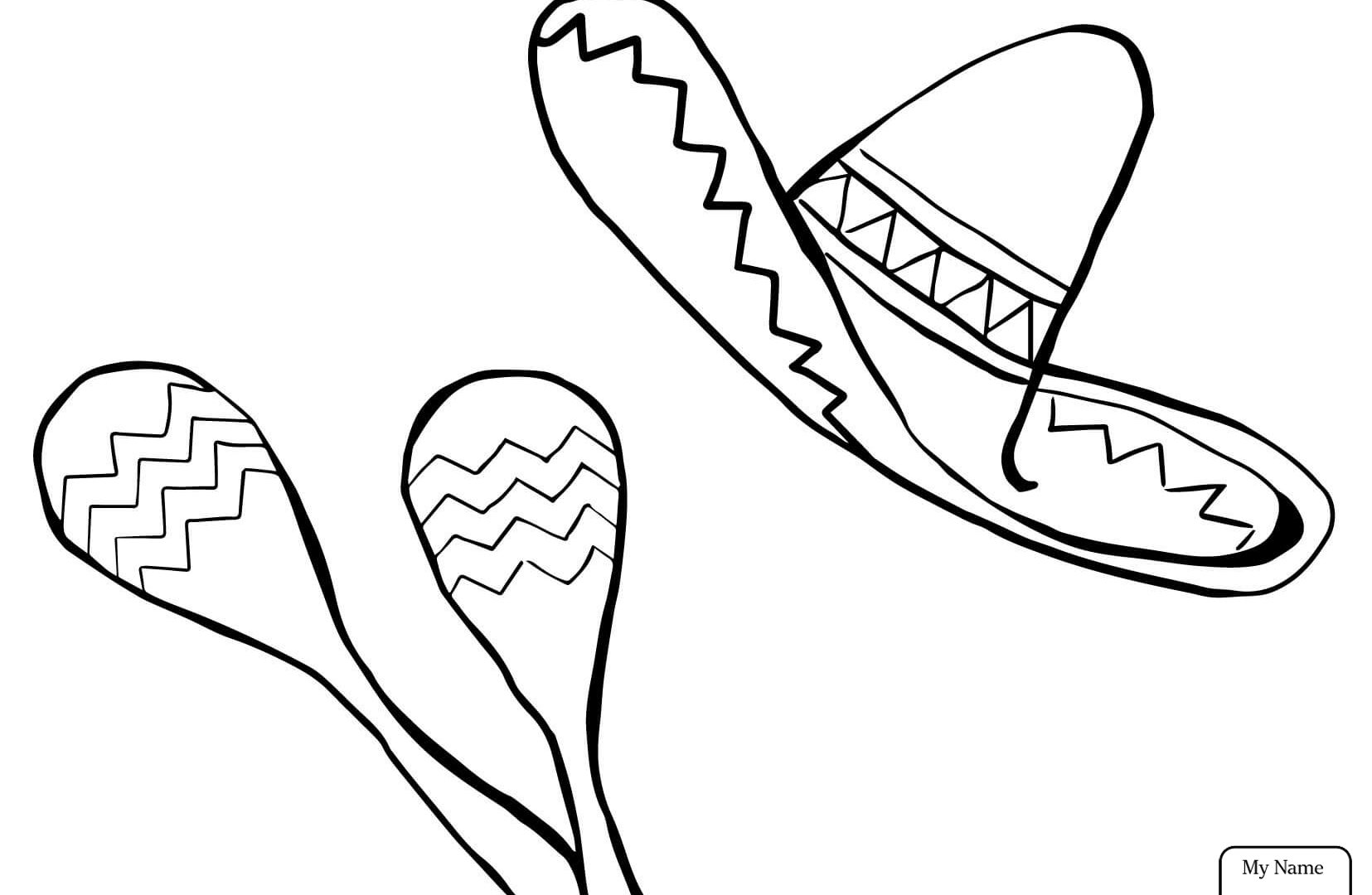 1655x1080 Cinco Mayo Mouse Coloring Page Free Printable De Pages Kids