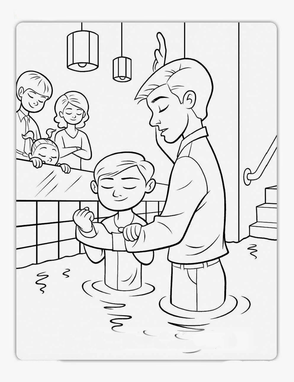 993x1290 Birthday Baptism Primary Lds Source To Print Free Coloring