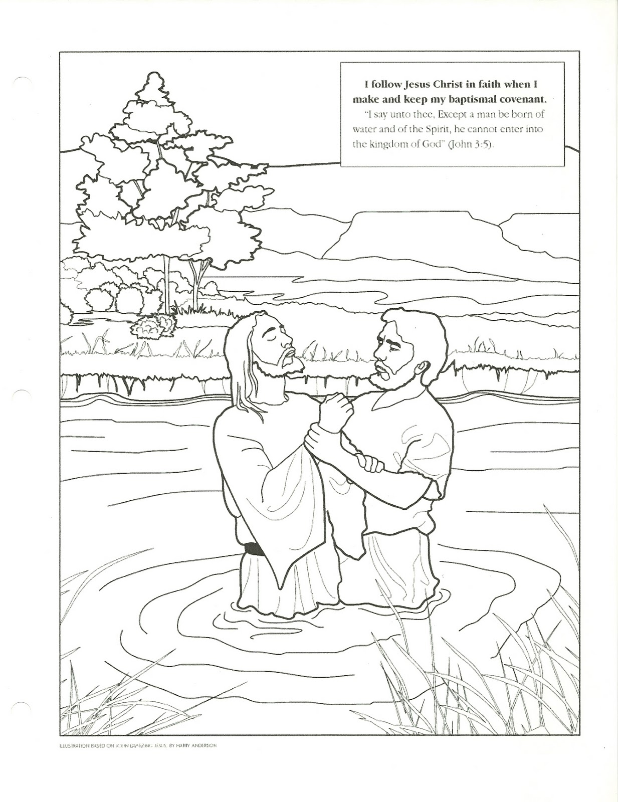 Baptism Coloring Pages Printables at GetDrawings   Free ...
