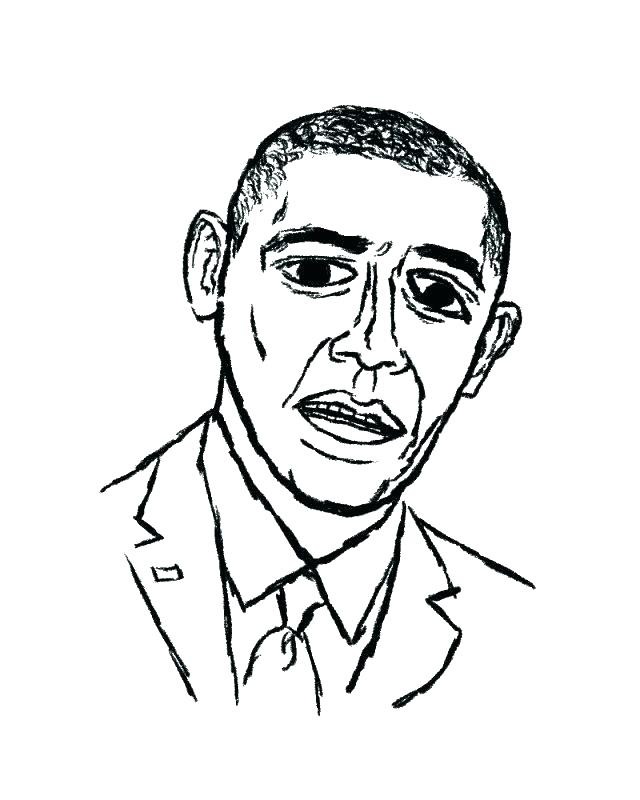 640x800 Barack Obama Coloring Pages Coloring Sheets Pages Images