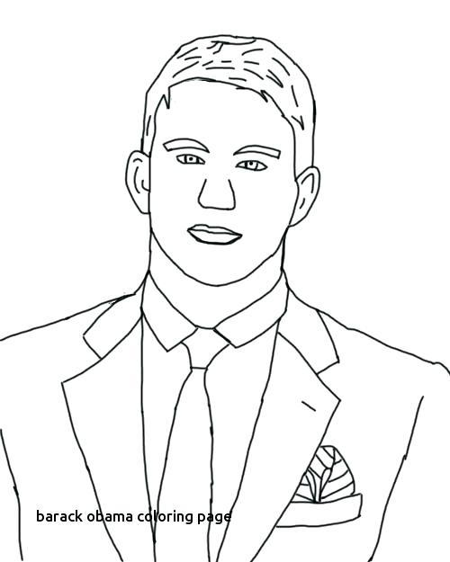 500x625 Dibujo Para Colorear Barack Obama Coloring Page Caricature
