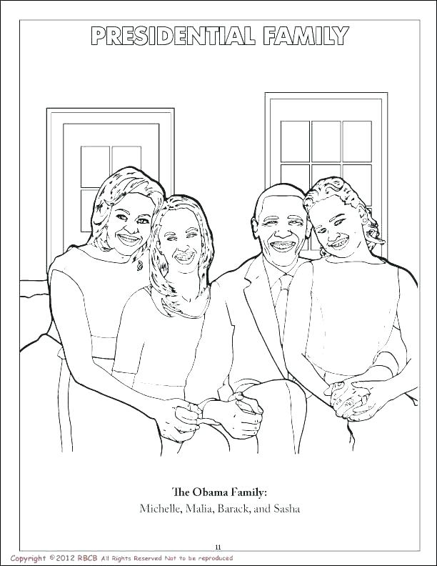612x792 Obama Coloring Page Free Coloring Pages President Page Gallery