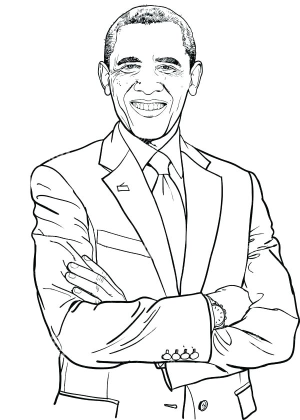 600x840 President Coloring Page Top Rated Coloring Page Images Black