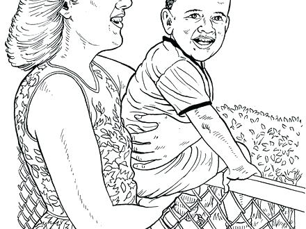 440x330 President Obama Coloring Page President Coloring Page Free